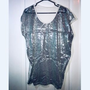 Tops - [NEW] Sequin Long Top/Dress